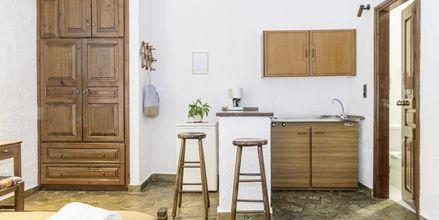 1-værelses lejlighed i den ældre del på Hotel Flamingos på Kreta, Grækenland.