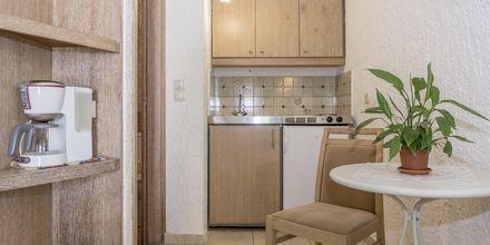 Renoveret 1-værelses lejlighed på Hotel Flamingos på Kreta, Grækenland.