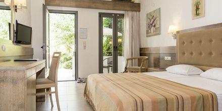 Renoverede 1-værelses lejlighed på Hotel Flamingos på Kreta, Grækenland.