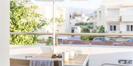 2-værelses lejlighed på Hotel Flamingos på Kreta, Grækenland.