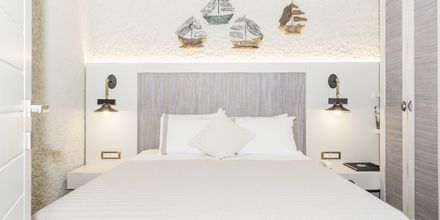 Renoveret 2-værelses lejlighed på Hotel Flamingos på Kreta, Grækenland.