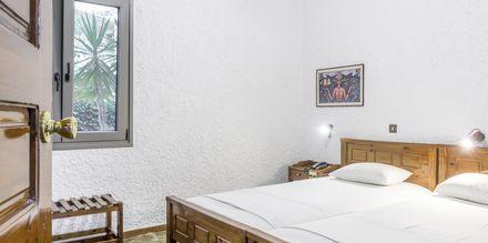 2-værelses lejlighed i den ældre del på Hotel Flamingos på Kreta, Grækenland.