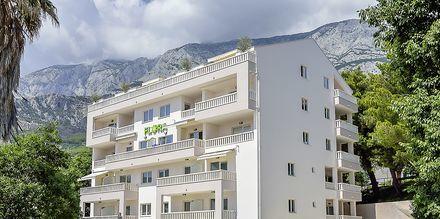 Hotel Flora i Tucepi, Kroatien