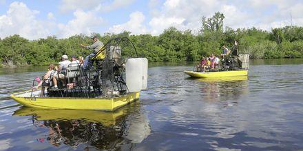Udforsk Everglades' fantastiske sumpområder