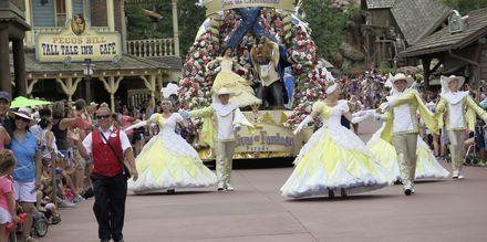 Parade i Magic Kingdom