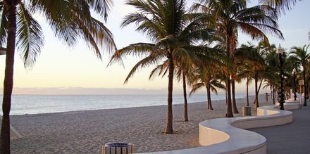 Strandpromenaden i Fort Lauderdale