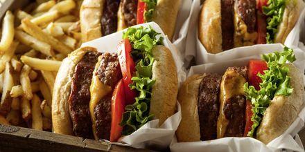 Lækre hamburgere