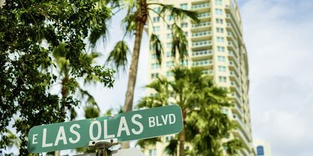 Las Olas Boulevard er den mest levende gade i byen.