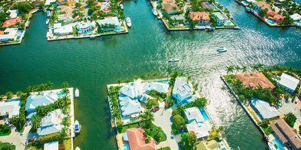 """Fort Lauderdale kaldes ofte for """"Venice of Florida"""" takket være sin kanaler."""