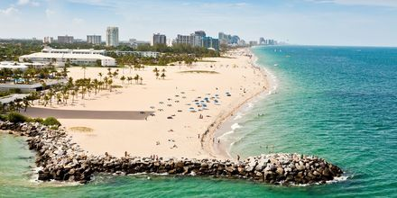 Fort Lauderdale i Florida, USA.