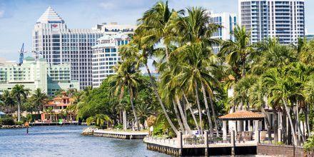 Fort Lauderdale og Florida er kendt for sin varme klima.