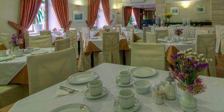 Morgenmadsrestaurant på Hotel Fortezza i Rethymnon på Kreta, Grækenland