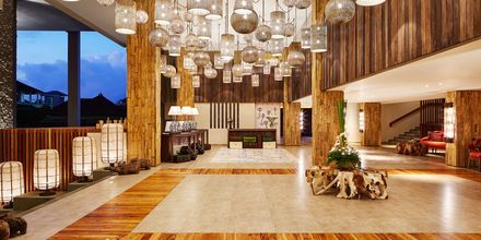 Lobbyen på Hotel Four Points By Sheraton Bali Kuta på Bali, Indonesien.