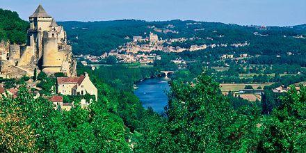Frankrigs smukke natur.