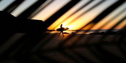 Solnedgang på Fuerteventura.
