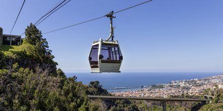 Svævebanen i Funchal på Madeira, Portugal.