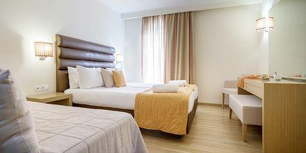 Dobbeltværelse på Hotel Galaxy Beach Resort i Laganas, Zakynthos.