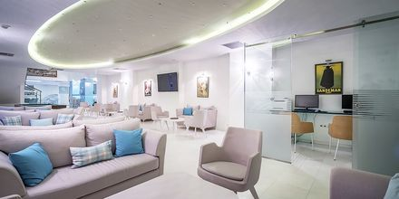 Lobby på Hotel Galaxy Beach Resort i Laganas, Zakynthos.