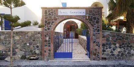 hotel Gardenia på Santorini, Grækenland.