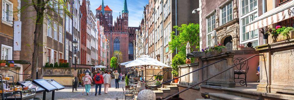 Gdansk i Polen er et hyggeligt weekend-rejsemål.