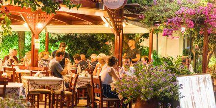 Restaurant i Georgioupolis på Kreta i Grækenland.