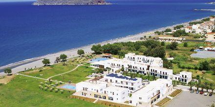 Geraniotis Beach i Platanias på Kreta i Grækenland