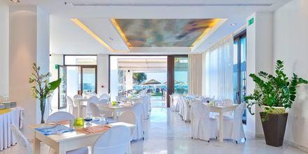 Restaurant på Geraniotis Beach i Platanias på Kreta i Grækenland
