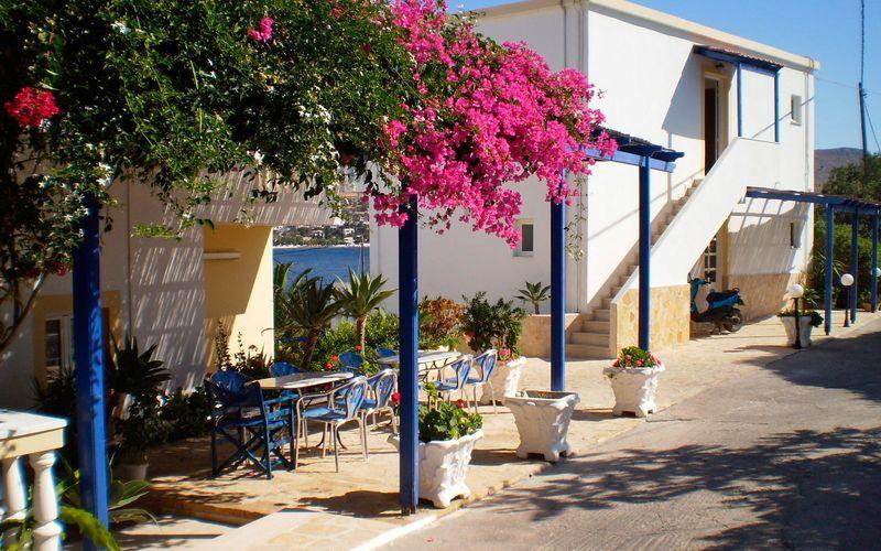 Hotel Gianna på Leros, Grækenland.