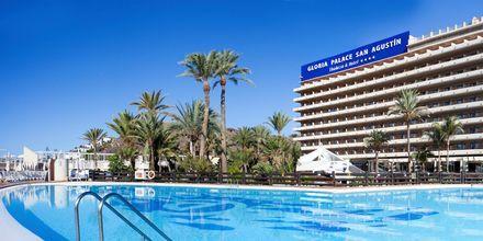 Pool på Gloria Palace San Agustin Thalasso & Hotel på Gran Canaria, De Kanariske Øer.
