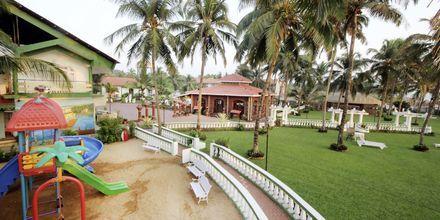 Legeplads på Goan Heritage i Goa i Indien.
