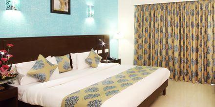 Deluxe-værelse på Goan Heritage i Goa i Indien.