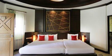 Dobbeltværelse på Golden Beach Resort i Ao Nang, Krabi i Thailand.