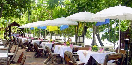 Restaurant på Golden Beach Resort i Ao Nang, Krabi i Thailand.