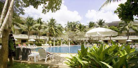 Pool på Golden Beach Resort i Ao Nang, Krabi i Thailand.