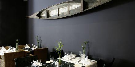 Restaurant på Golden Residence på Madeira, Portugal.