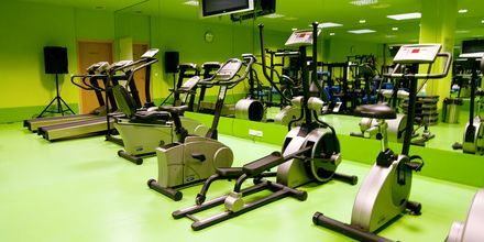 Fitnessrum på Golden Residence på Madeira, Portugal.