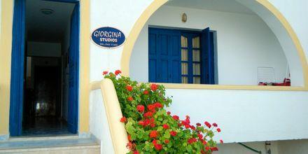 Hotel Gorgina and Sofia på Karpathos, Grækenland.
