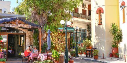 Oplev den hyggelige by Gouves på Kreta.