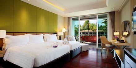 Deluxe-værelse på Graceland Khao Lak Resort, Thailand.