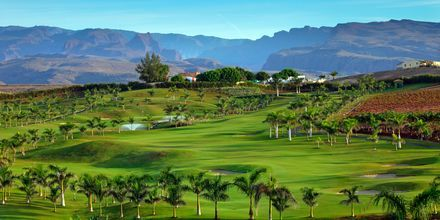 Golfbanen i Meloneras