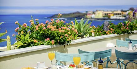 Morgenmad på Hotel Gran Rey på La Gomera, De Kanariske Øer, Spanien.
