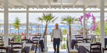 Restaurant på Grand Hotel i Saranda, Albanien.