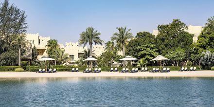 Stranden som hører til hotellet. Hotel Grand Hyatt i Doha, Qatar.