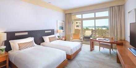 Deluxe-værelse på Hotel Grand Hyatt i Doha, Qatar.