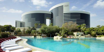 Poolområde på Grand Hyatt i Bur Dubai, Dubai.