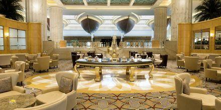 Lounge område på Grand Hyatt i Bur Dubai, Dubai