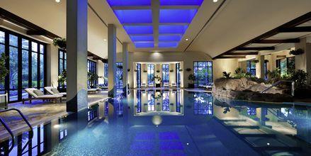 Indendørs pool på Grand Hyatt i Bur Dubai, Dubai