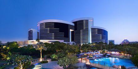 Poolområde på Grand Hyatt i Bur Dubai, Dubai