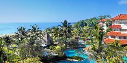 Poolområde på Grand Mirage Resort i Tanjung Benoa på Bali