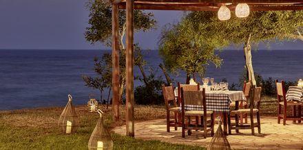 Restaurant på Hotel Grecian Bay, Cypern.